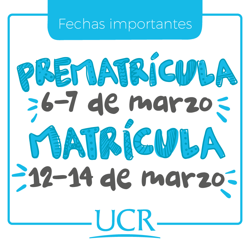 fechas importantes matricula ic2018
